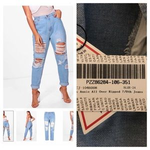 BRAND NEW Ripped Jeans size 20